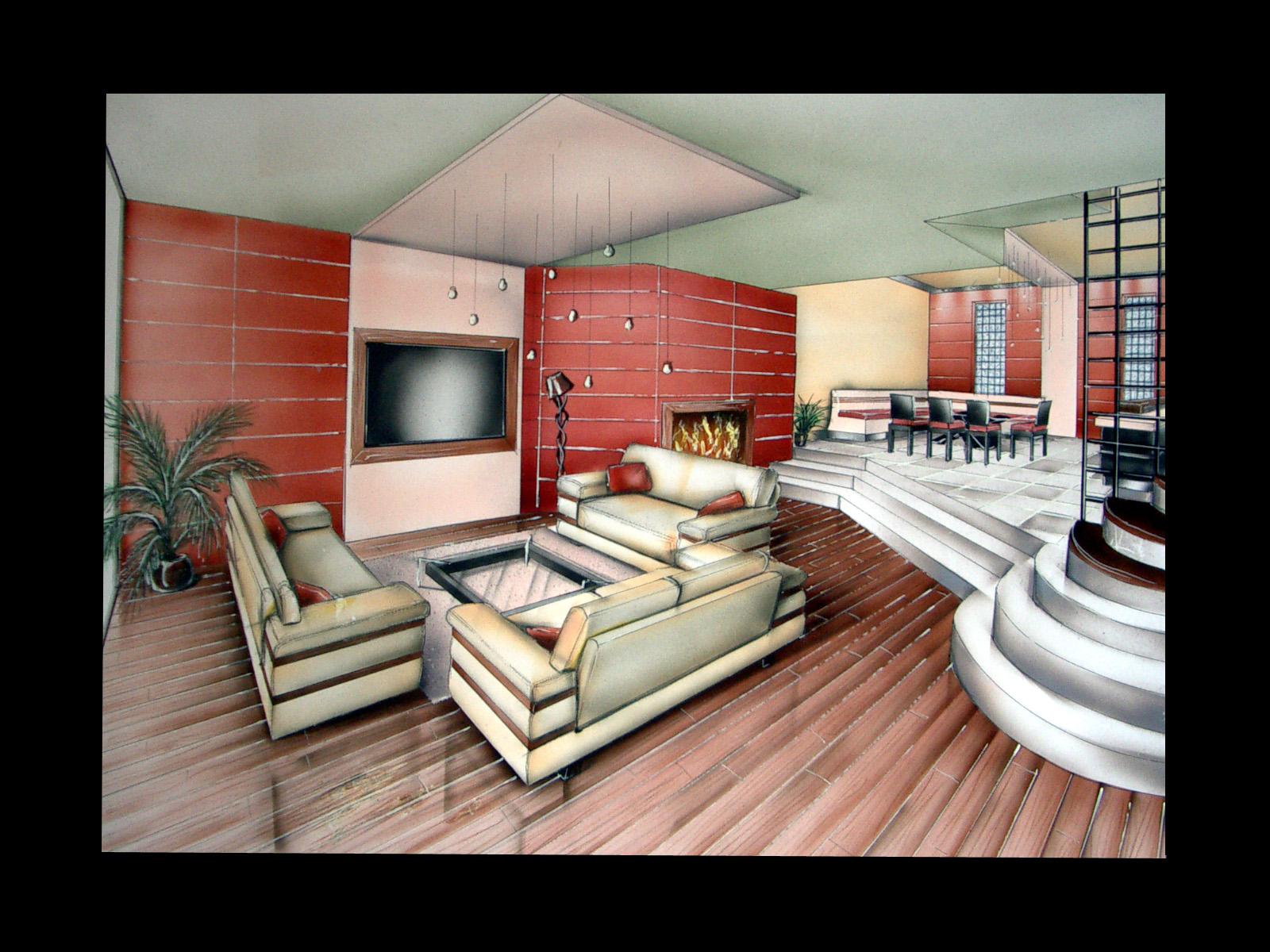 Mon Book D 39 Architecte D 39 Int Rieur R Alisation Feutres Et A Rographe Blog Lilou0860 Page 4